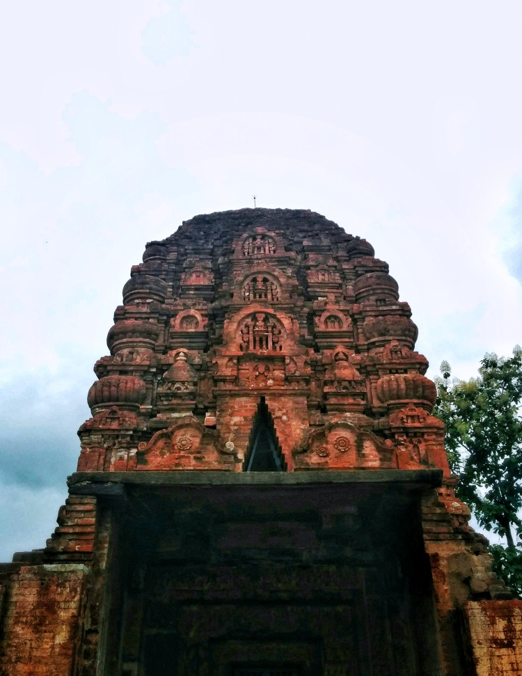 The marvel in brick that is the Lakshman Temple, dating back to the 7th century AD.