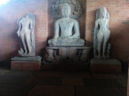 Tivardev Vihar, a Buddhist monastery in Sirpur